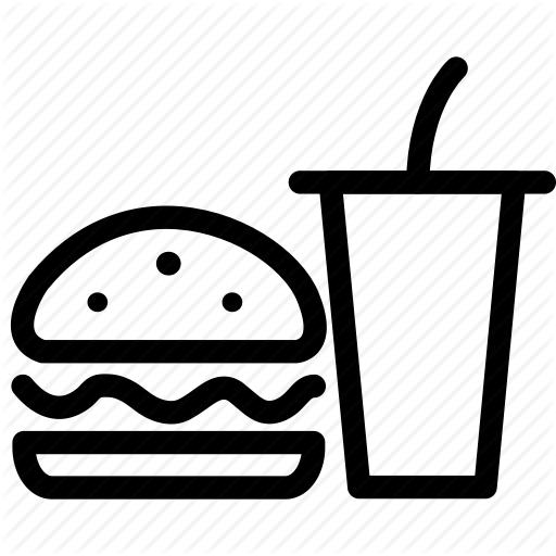 Burger, Burger And Cola, Carbonated Beverage, Coke, Fast Food