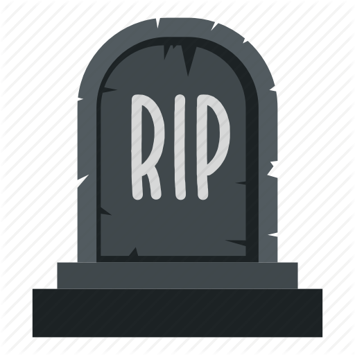Death, Grave, Graveyard, Headstone, Rip, Stone, Tombstone Icon