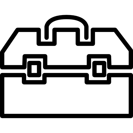 Toolbox Outline Icons Free Download