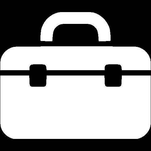 White Tool Box Icon