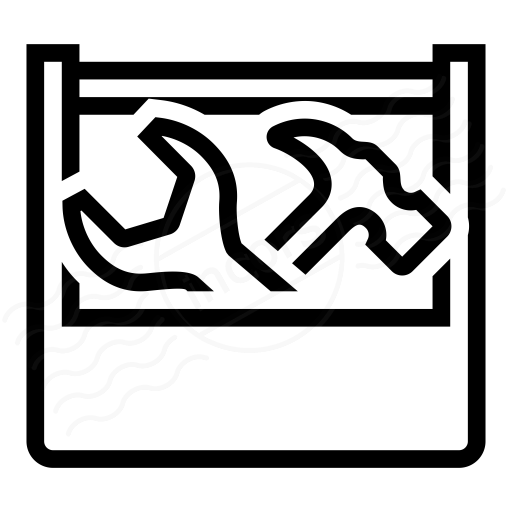 Iconexperience I Collection Toolbox Icon