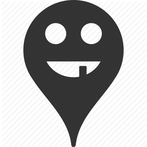 Emoticon, Emotion, Map Marker, Pointer, Position, Smile, Toothless