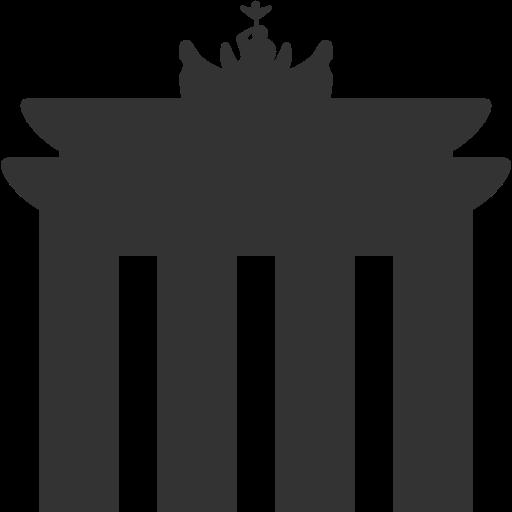 Brandenburg Gate Icon Free Of Windows Icon