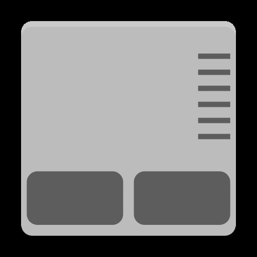 Notification Input Touchpad Symbolic Icon Papirus Status Iconset