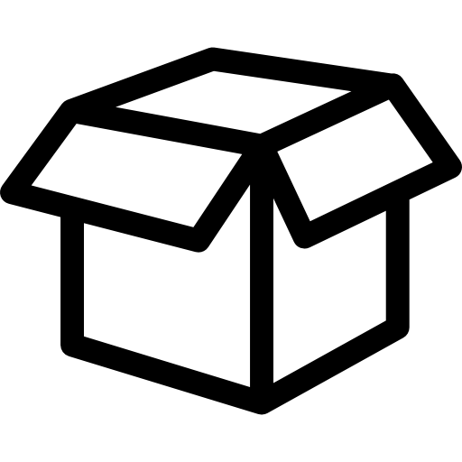 Empty White Box Icons Free Download
