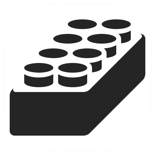 Building Block Icon Iconexperience