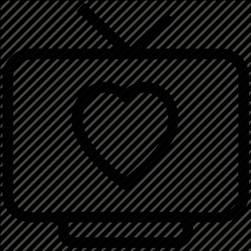 Love Programme, Love Story, Romantic Movie, Tv, Tv Programme Icon