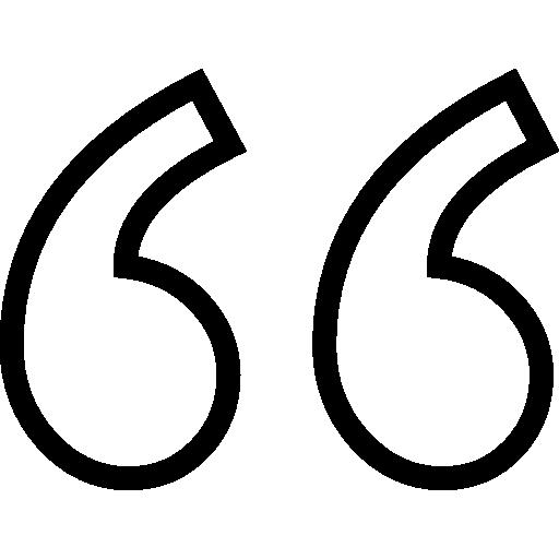 Vector Quotation Icon