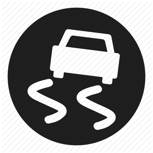 Control, Dashboard, Off, Skid, Stability, Traction Icon