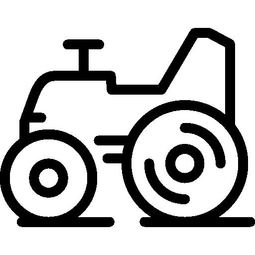 Farm Tractor Icon Farming Freepik