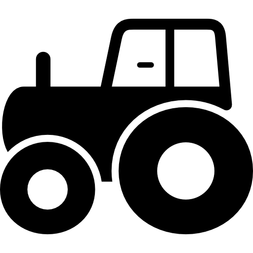 Tractor Side View Icons Free Download