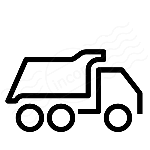 Iconexperience I Collection Dump Truck Icon