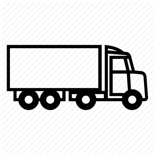 Car, Trailer, Truck Icon