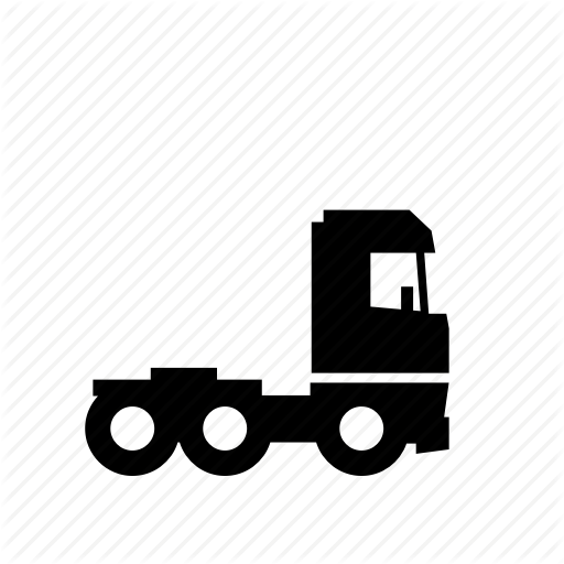 Cargo, Road, Semi, Tractor, Trailer, Transport, Truck Icon