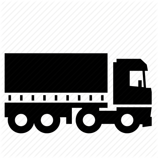 Curtain, Road, Semi, Sider, Trailer, Transport, Truck Icon