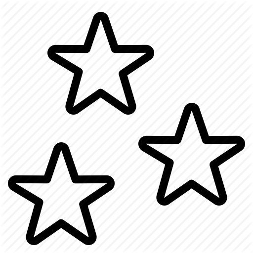 Transparent Star Icon