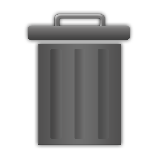 Empty Trash Can Icon Free Icons Download
