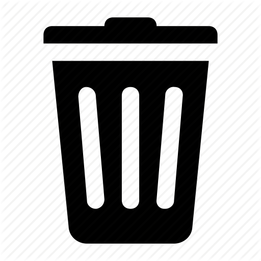 Delete, Trash, Trash Bin, Trash Can Icon