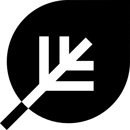 Travel Botanical Flat Icon