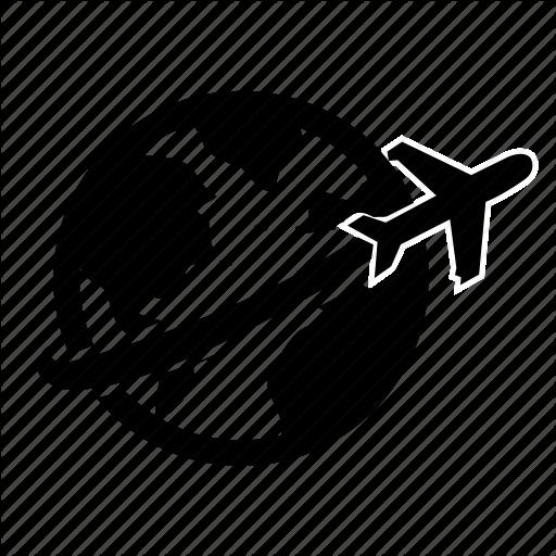 Airport, Destination, Fare, Journey, Map, Ticket, Travel Icon
