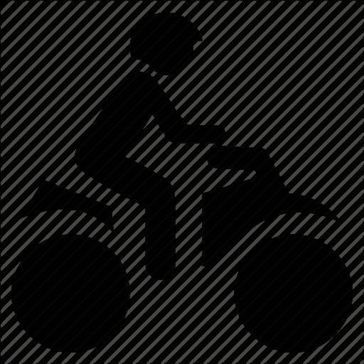 Bike Rider, Dirt Bike, Rider On Bike, Travel, Traveling Icon
