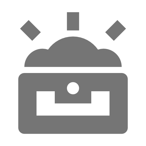 Treasure, Chest, Open Icon Free Of Nova Solid Icons