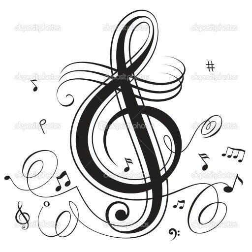 Music Note Music Notes !!!! Music, Treble Clef, Music Notes