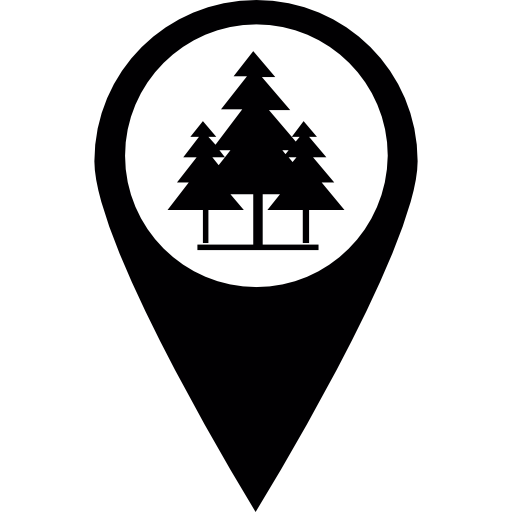 Marker Park Tree Icons Free Download