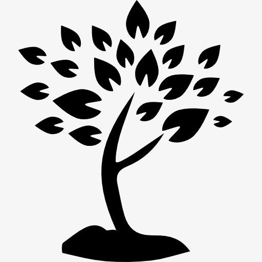 Stick Figure Trees, A Tree, Trees Icon, Bl