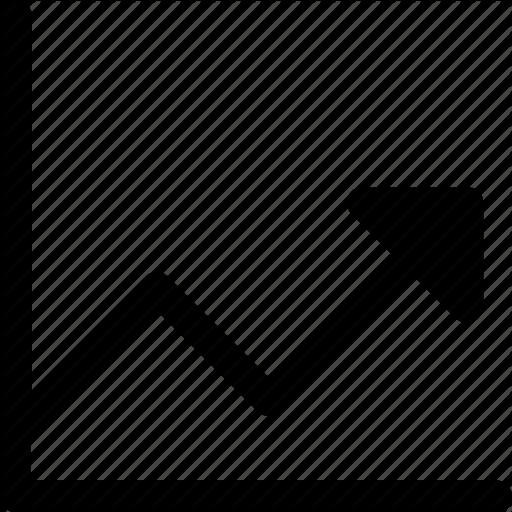 Arrow, Chart, Growth, Increasing, Trending Icon