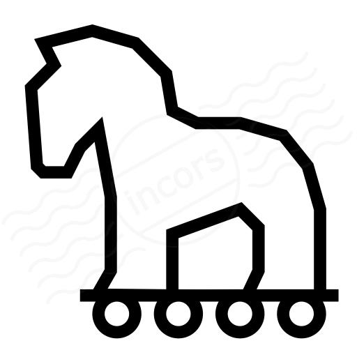 Iconexperience I Collection Trojan Horse Icon