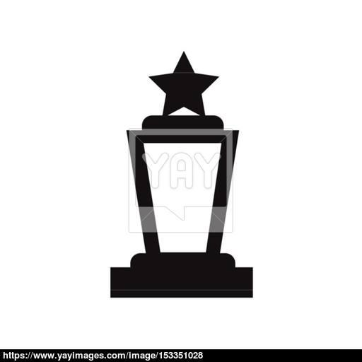 Trophy Vector Icon Vector
