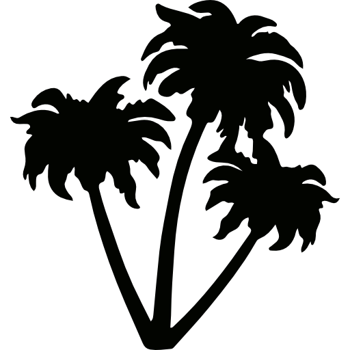 Plants, Botanical, Nature, Arecaceae, Desert, Tropical Icon