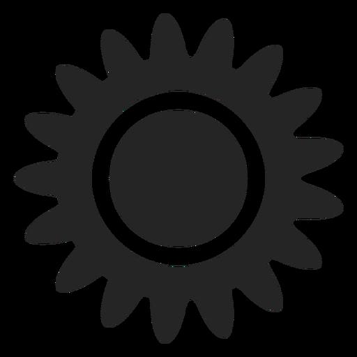 Tropical Sun Icon