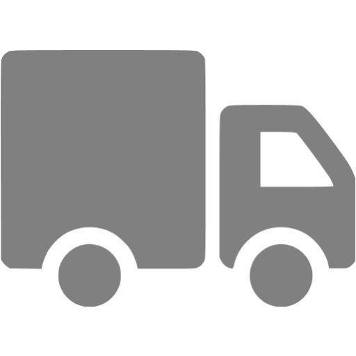 Gray Truck Icon