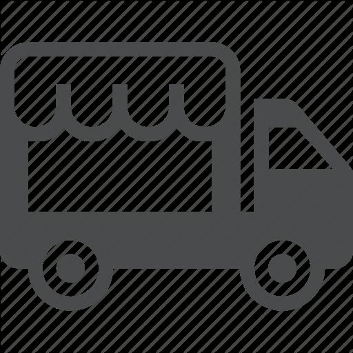 Food, Foodtruck, Popup, Truck Icon
