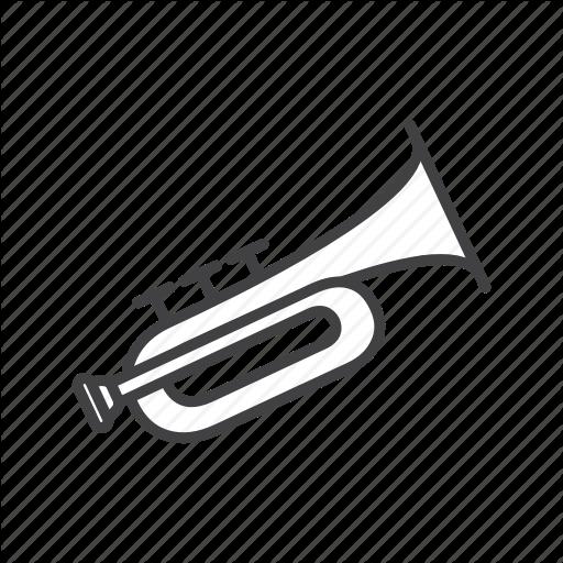 Brass, Trumpet Icon