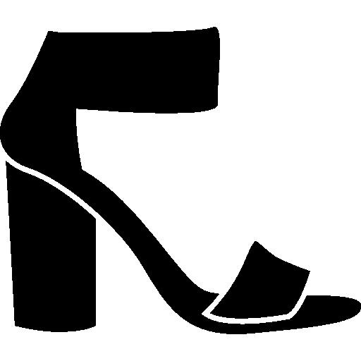 Ankle Strap Platform Heels Icons Free Download