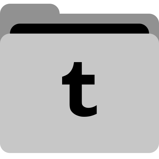 Storage, Social, Tumblr, Collection, Folder, App Icon
