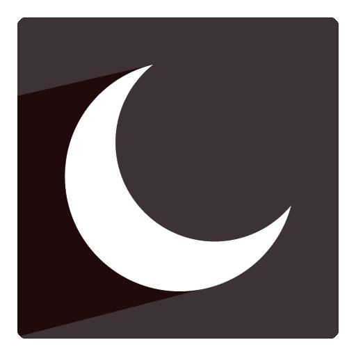 Moon Icon Christmas Shadow Iconset Pelfusion