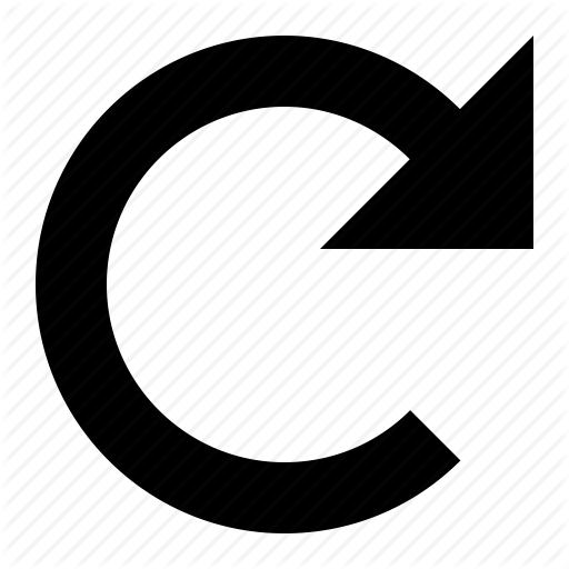 Clockwise, Loop, Refresh, Rotate, Spin, Turn Icon