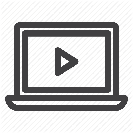 Education, Online, Tutorial, Video, Video Lesson Icon