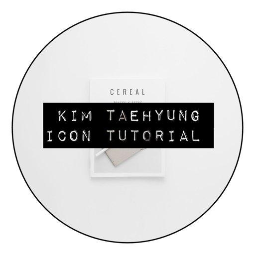 Kim Taehyung Icon Tutorial Army's Amino