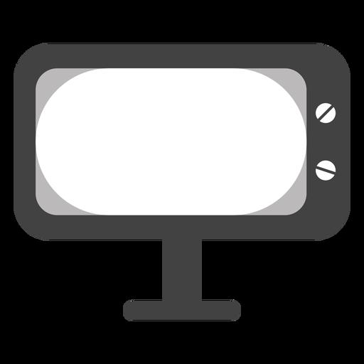 Television Icon Tv Set