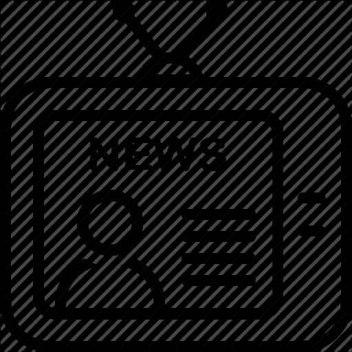 Clipart Tv Tv Icon
