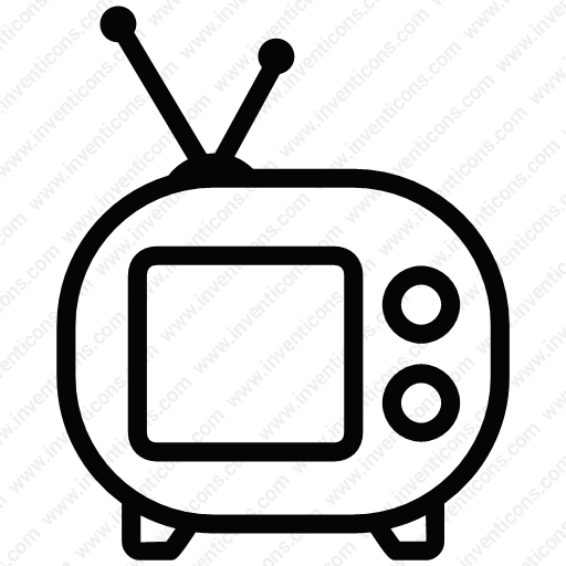 Download Screen,tv,movie,play,entertainment Icon Inventicons