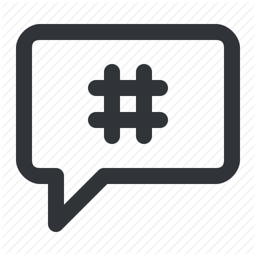 Hashtag Vector Instagram Icon Transparent Png Clipart Free