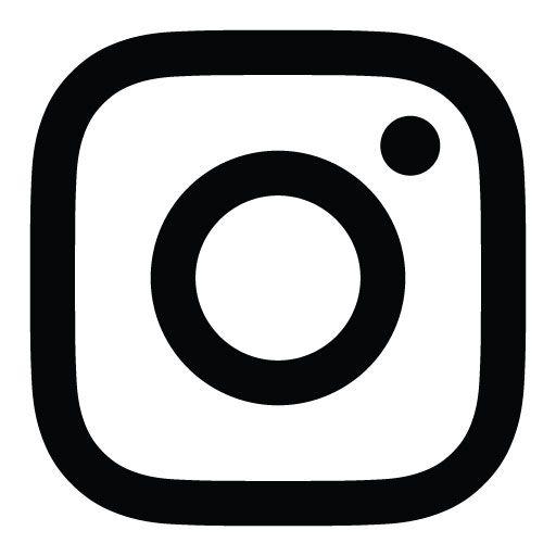 Logo Instagram Vector Black