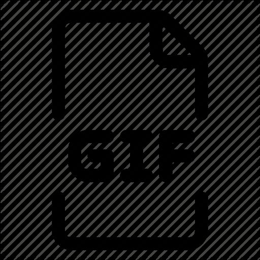 Doc, File, Gif Icon