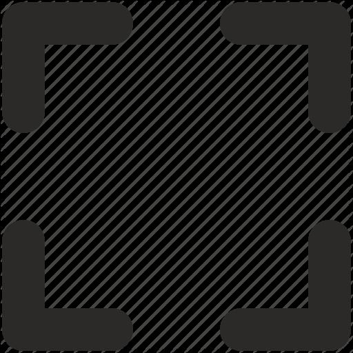 Border, Corner, Frame Icon